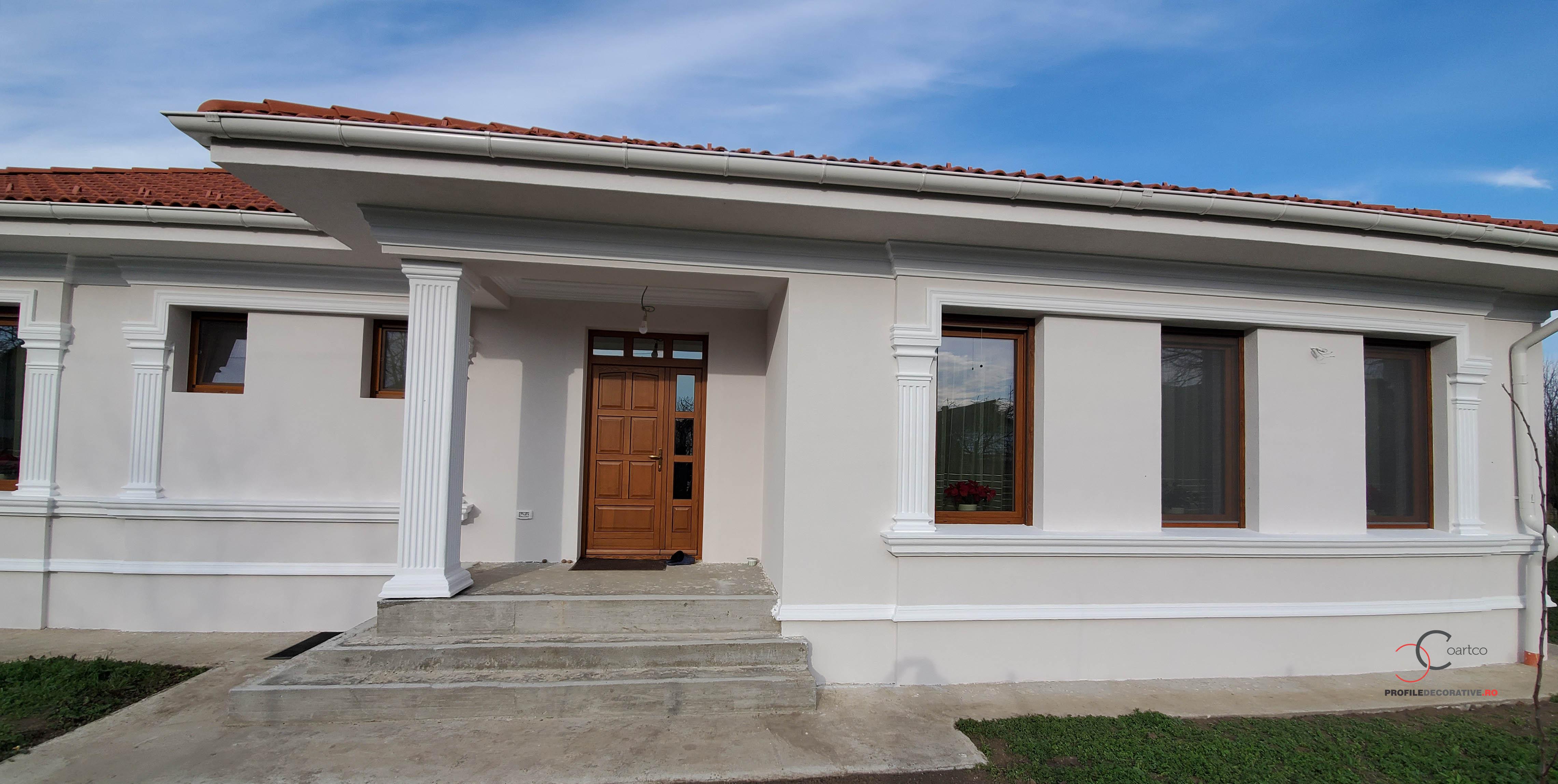 firma de arhitectura model design fatada casa la cheie
