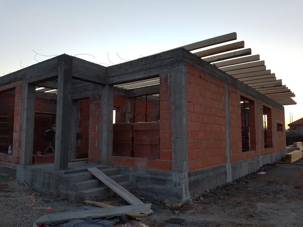 schita si constructie casa parter fara etaj cu firma de constructii