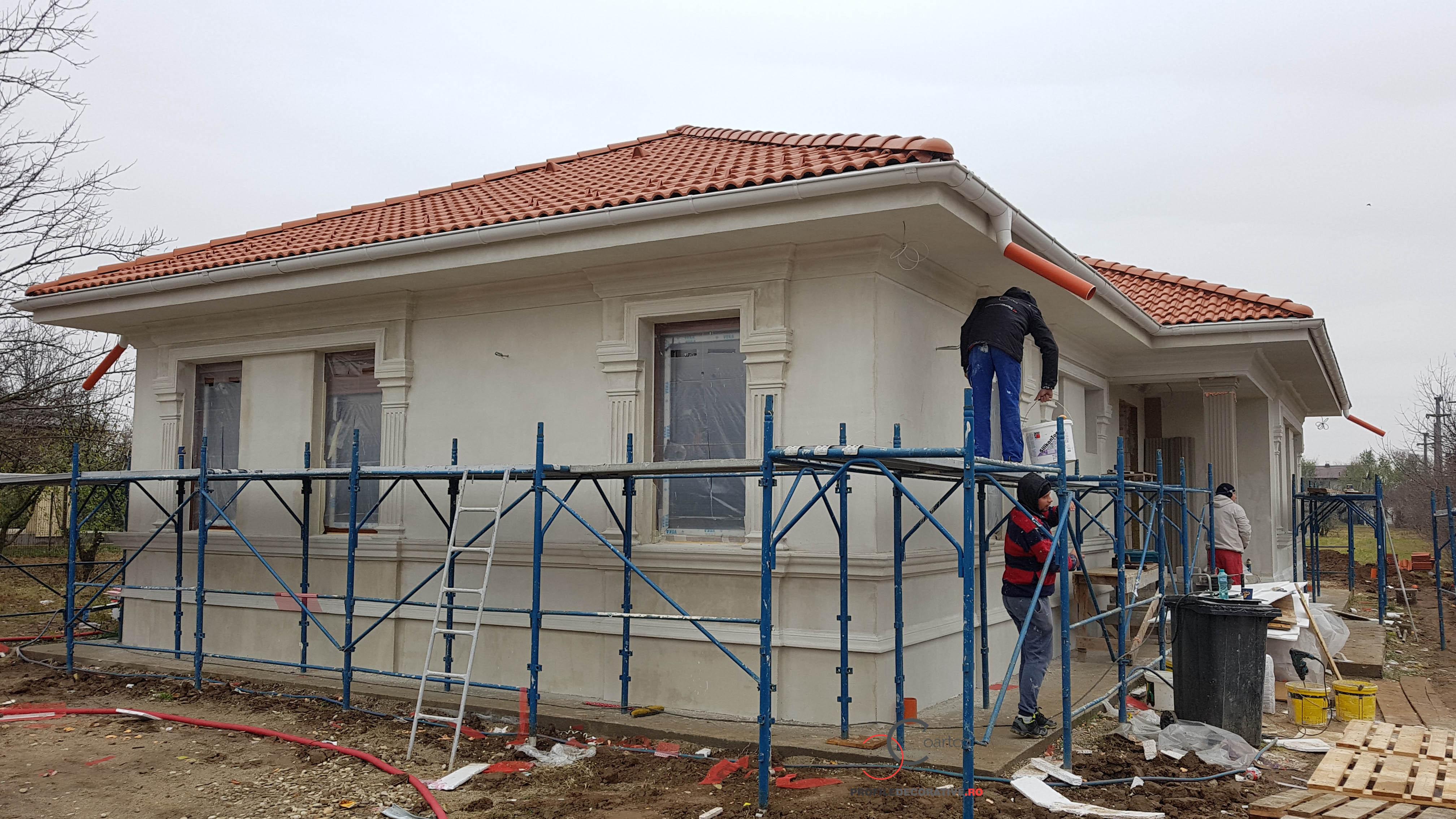 firma de constructii care se ocupa cu montaj elemente arhitecturale din polistiren
