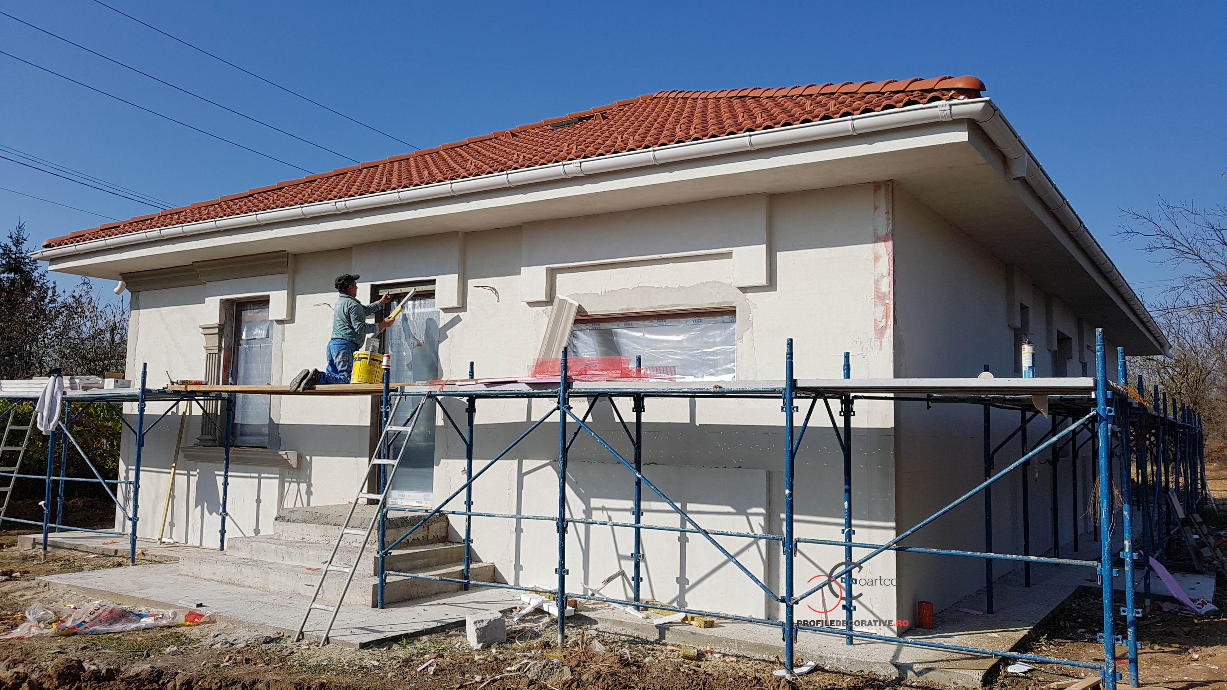 firma constructii montaj profile decorative din polistiren coartco