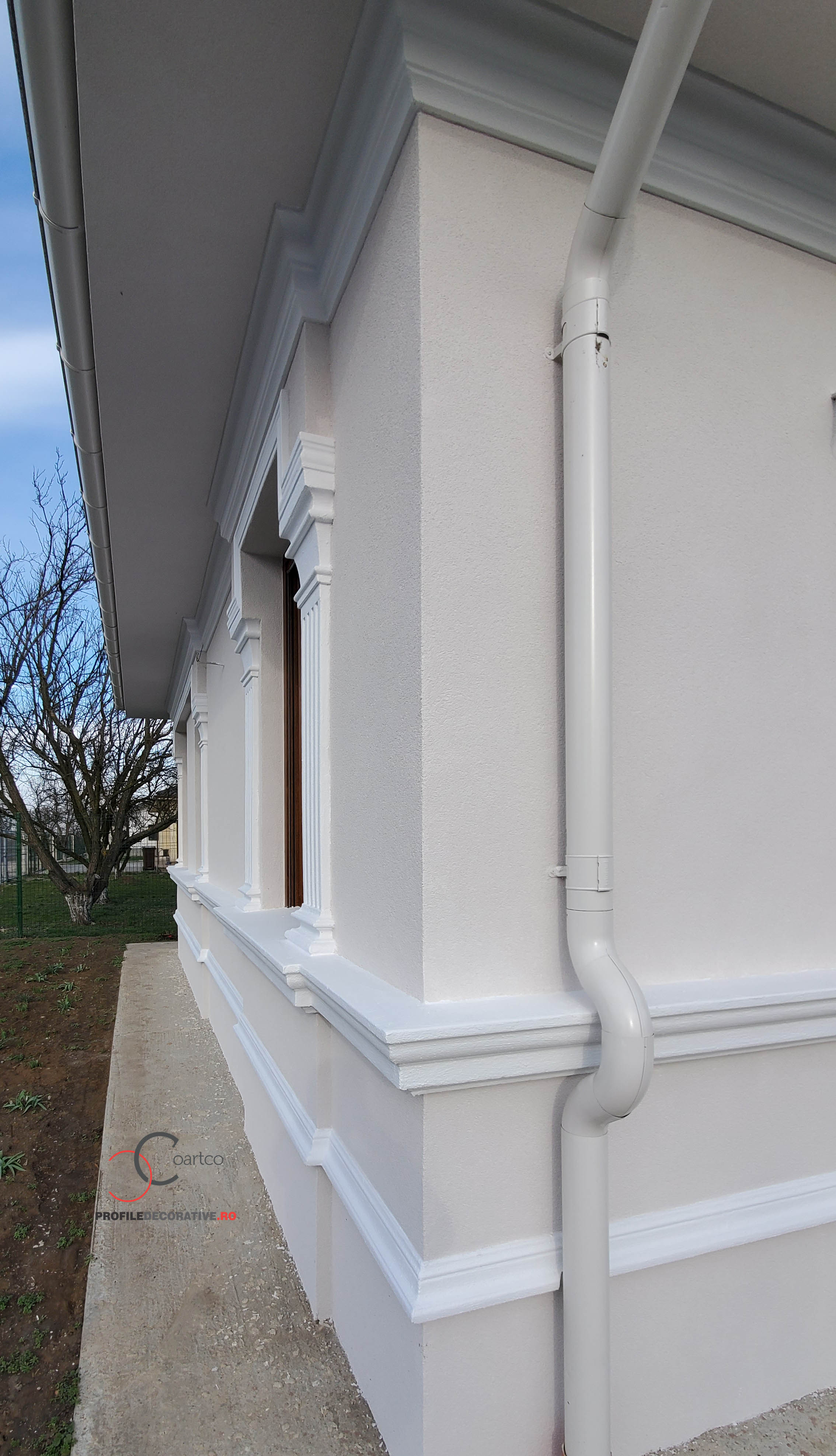 profile decorative pentru fatada casa parter