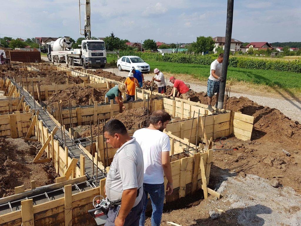 casa pe teren ingust modele si proiect cu firma de constructie casa parter fara etaj la cheie