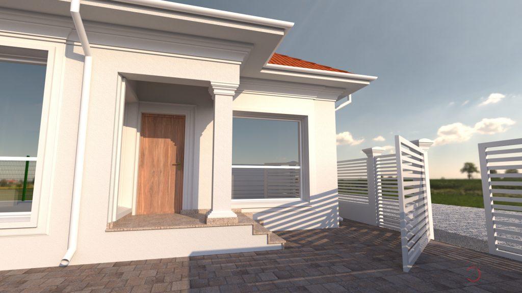 constructii case mici si ieftine, casa din lemn la cheie