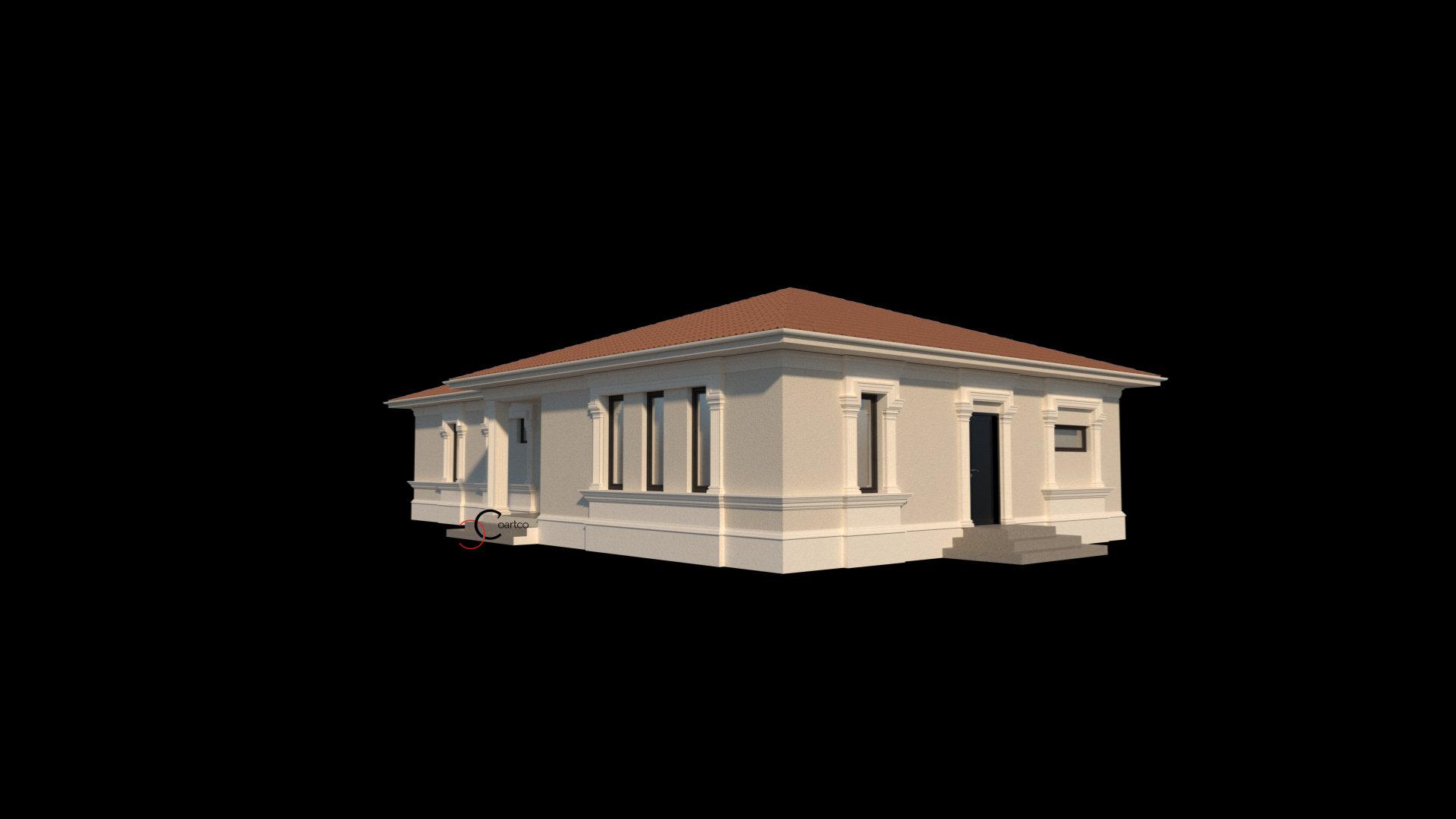 elementele arhitecturale sunt alese cu grija