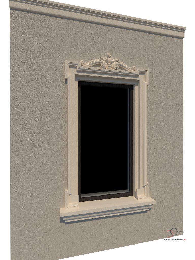profile decorative pentru ferestre din polistiren