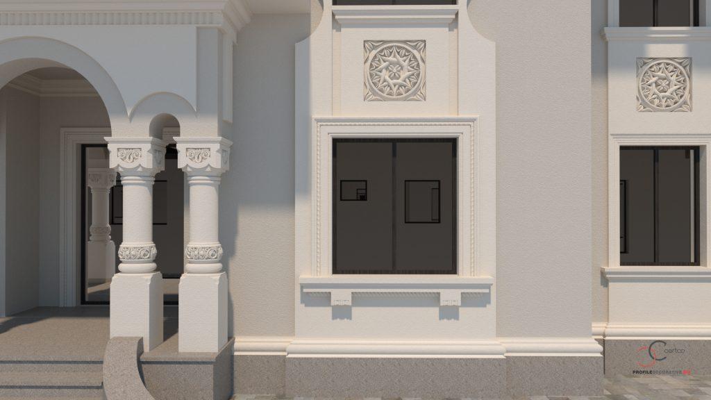 prezentare fatada casa stil neorormanesc