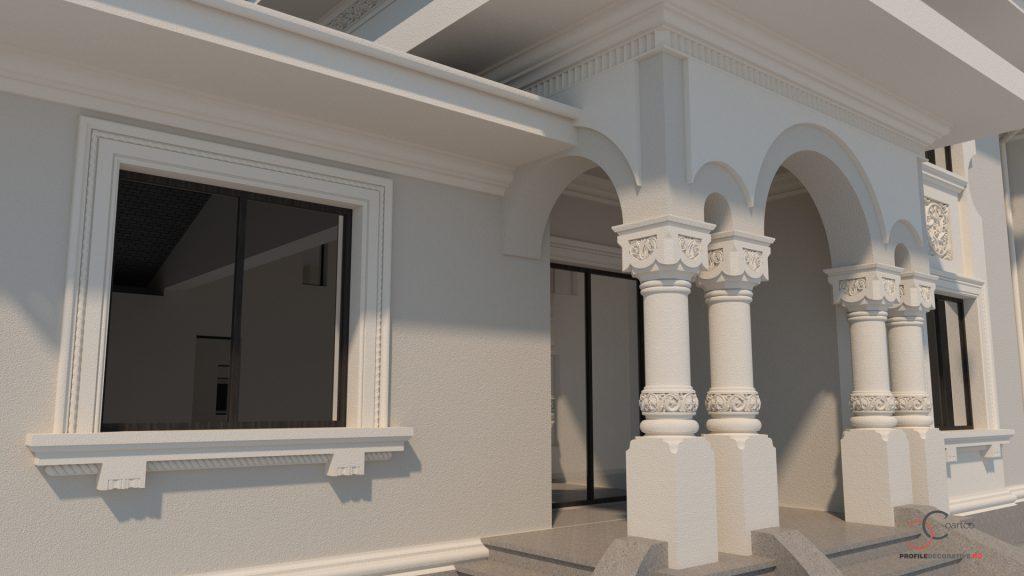 casa fatada culori poze simulari design