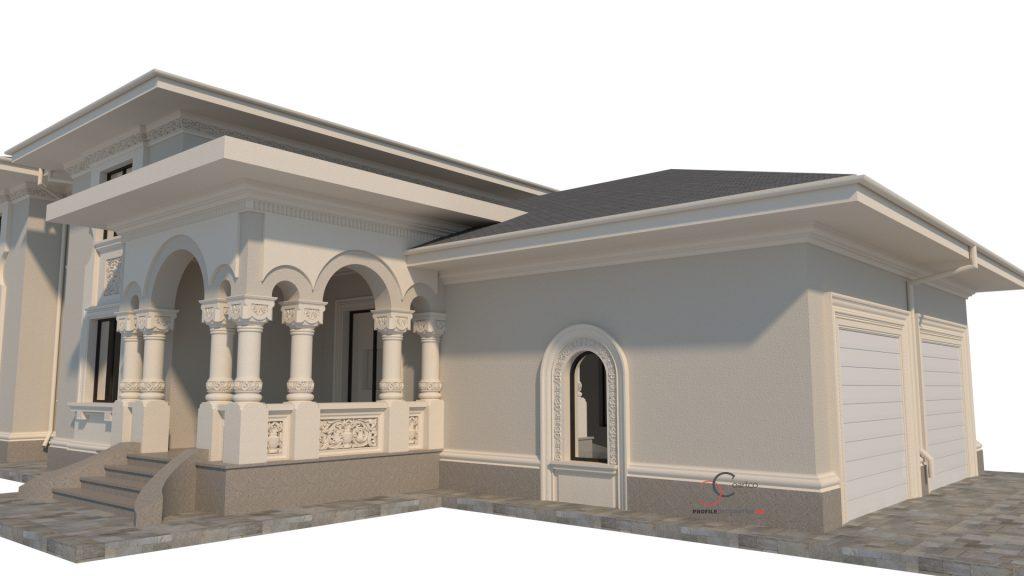 firma de arhitectura case neoromanesti
