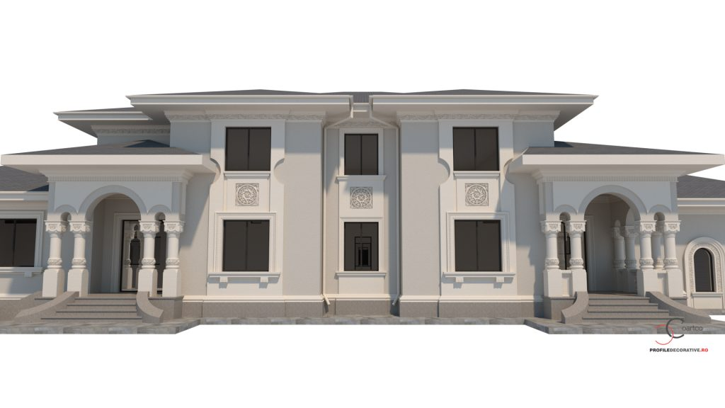 conac neoromanesc birou design