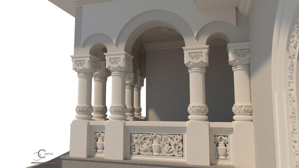 firma de proiectare si design case neoromanesti