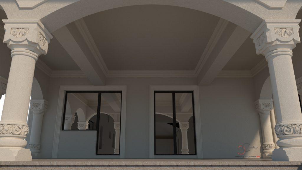 plan fatada casa design birou