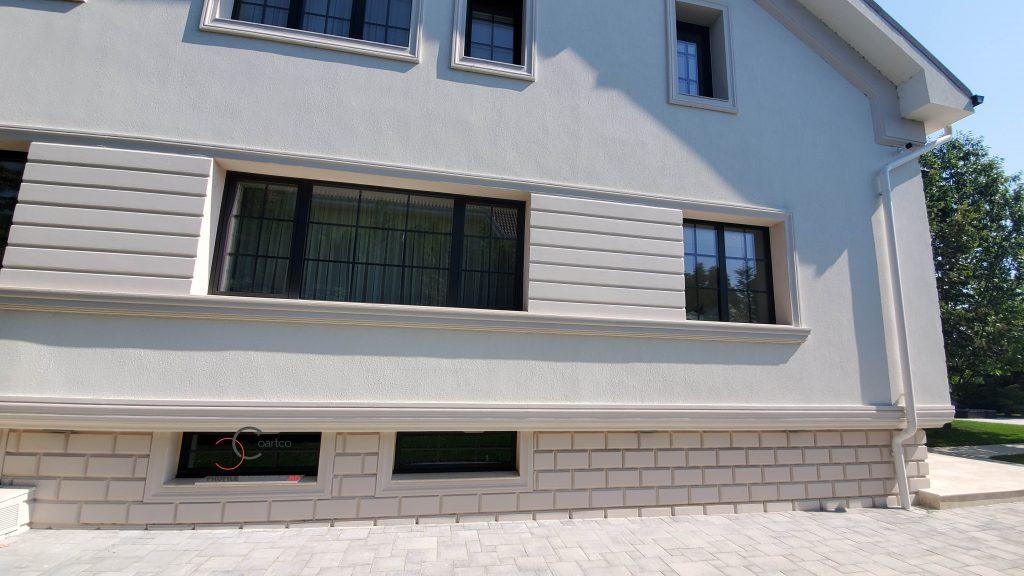 culoare fatada casa tencuiala decorativa