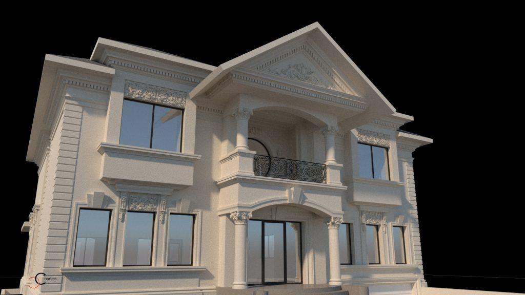 proiecte case in stil brancovenesc de dimensiuni impresionante