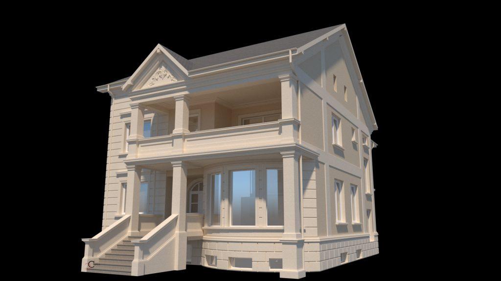 Proiectare case in stil clasic