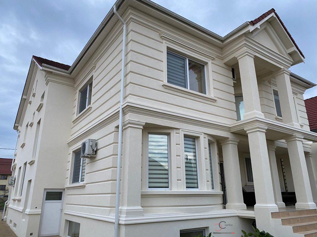 panouri decorative din polistiren pentru fatada casa pret firma design si arhitectura