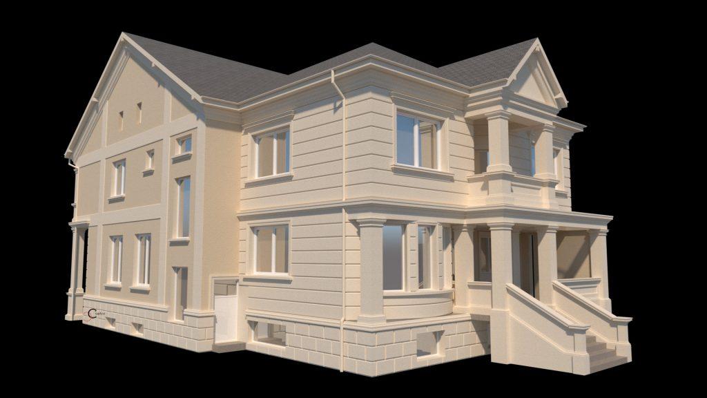proiecte case cu profile decorative din polistiren