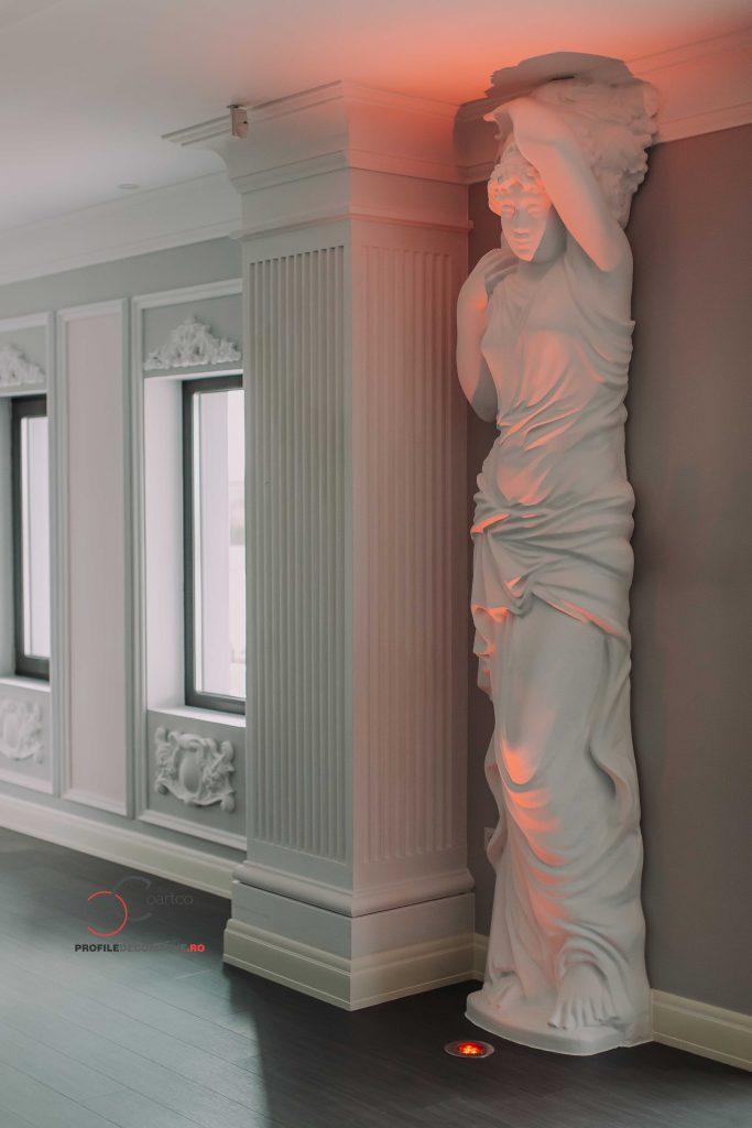 cariatida sau statuie sex veminin pentru ornarea interioara a saloanelor de evenimente