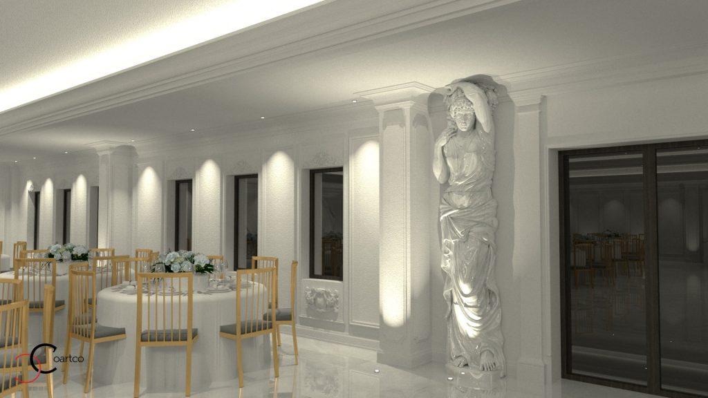 modelaj 3d a designului realizat de arhitectii CoArtCo