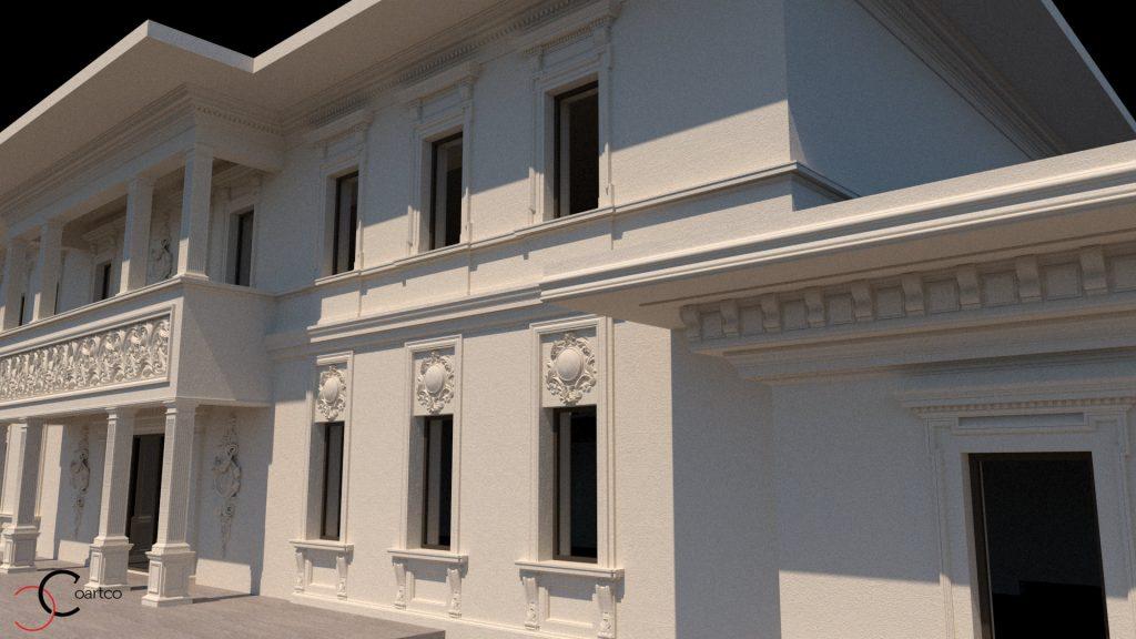 proiecte de arhitectura fatade cladiri comerciale