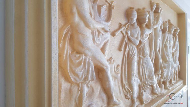 Panou decorativ - basorelief grecesc
