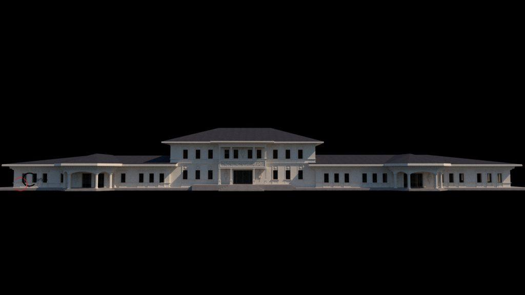 Modelare si proiectare cladiri comerciale in stil Neoclasic