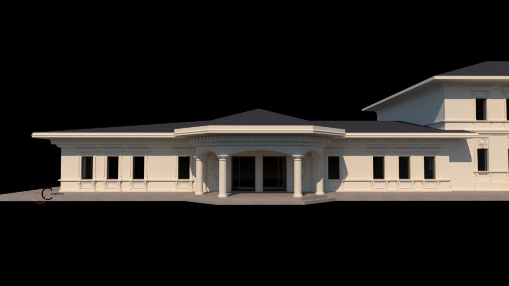 Design fatade cladiri in stil neoclasic