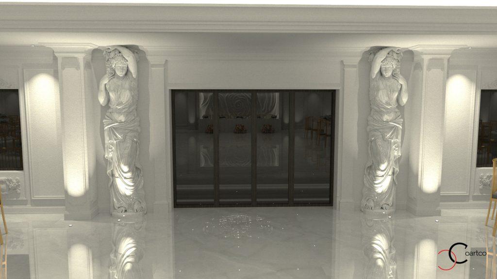 firma de arhitectura si design interior saloene de evenimente