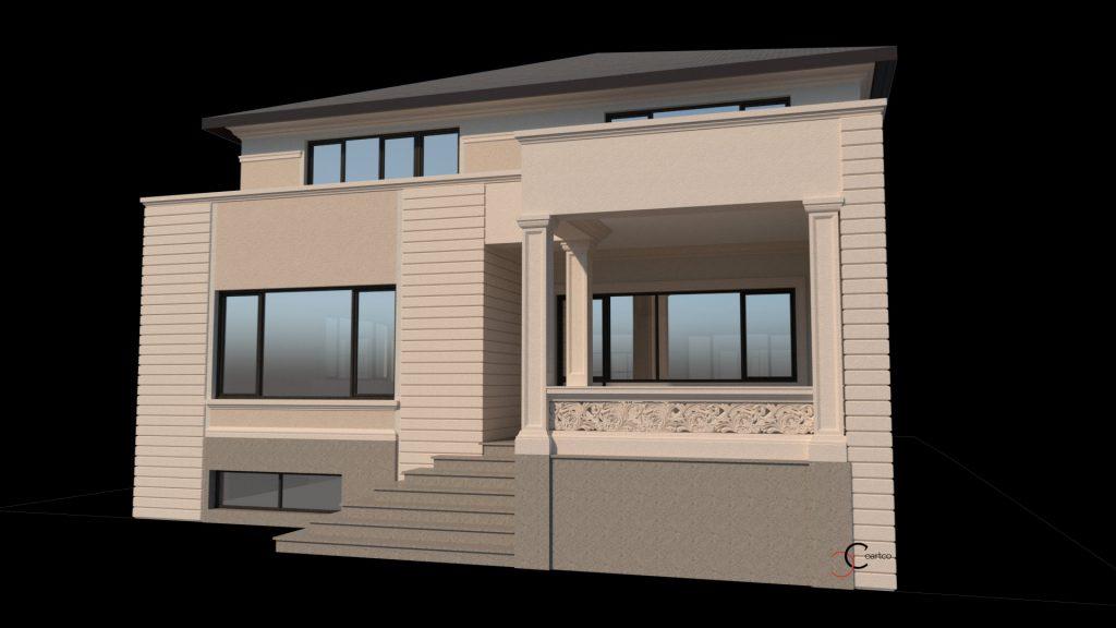 decorativa exterior casa forme polistiren