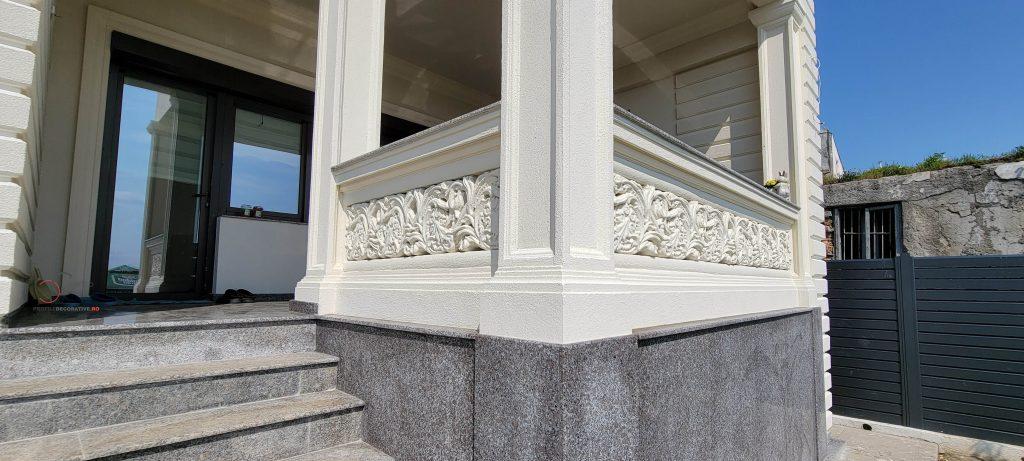 coloane decorative exterior din polistiren